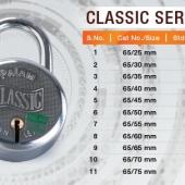 Pad Lock- Classic Series