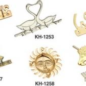 Brass Key Hangers