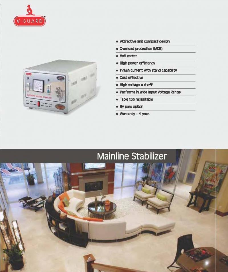 V-Guard Digital Stabilizers   Stabilizers   Aligarh Directory