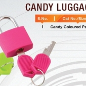 Pad Lock- Candy Luggage Locks