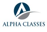 ALPHA CLASSES